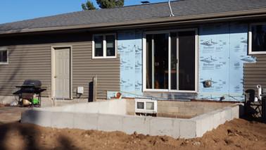 hot tub room foundation