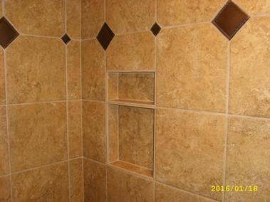 custom tile shower