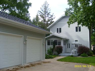 siding, windows, roof, doors