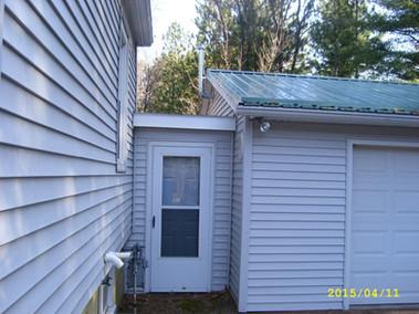 breezway entrance to garage
