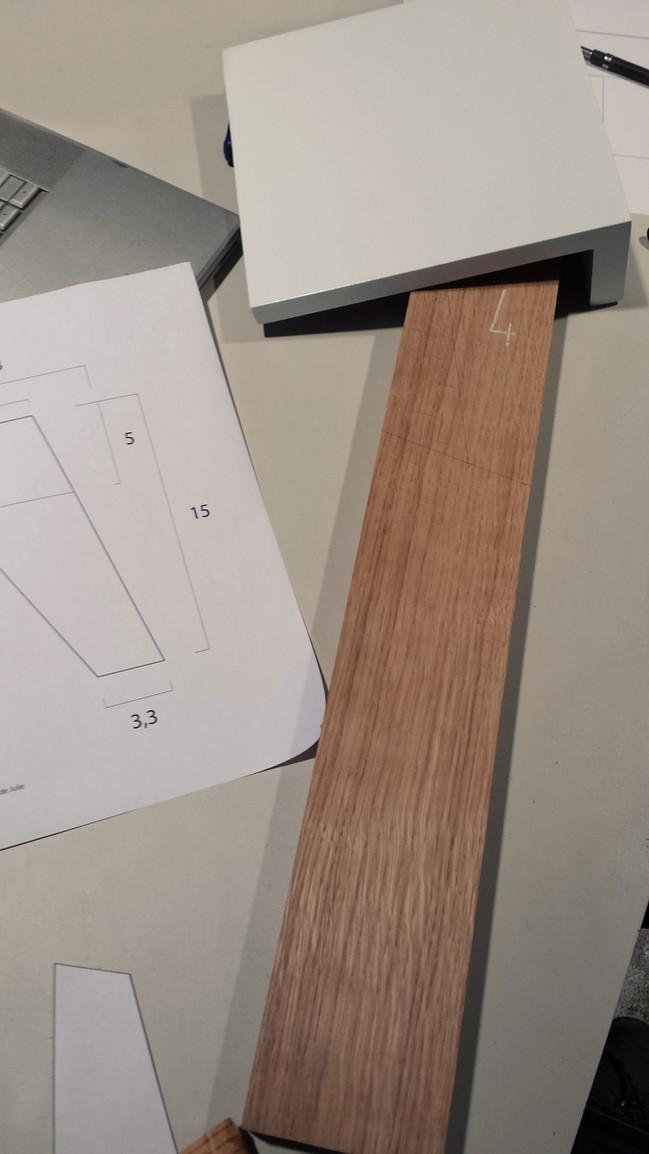 Fabrication d'une enfilade scandinave sur mesure