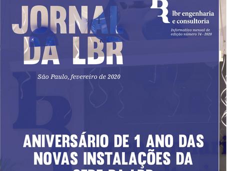 Jornal da LBR de Fevereiro de 2020