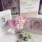 newborn birth announcement card nottingham