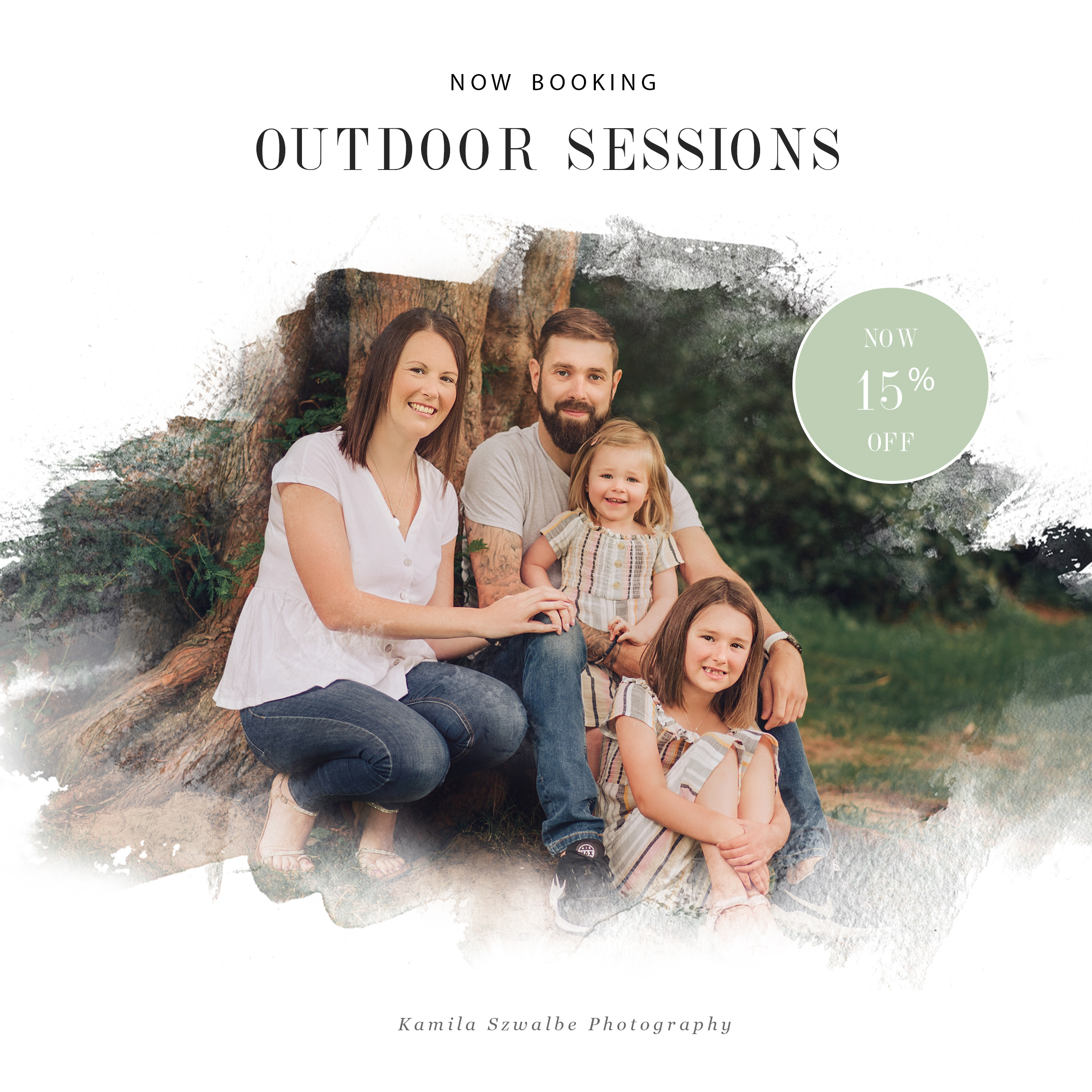 family sessions promotion