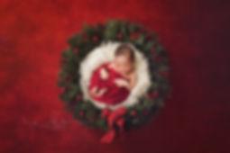 christmas newborn photographer nottingham