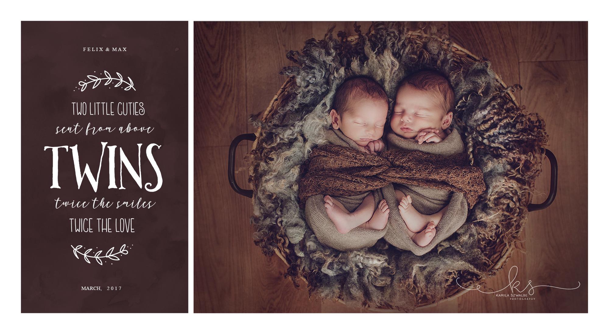twins newborn photographer