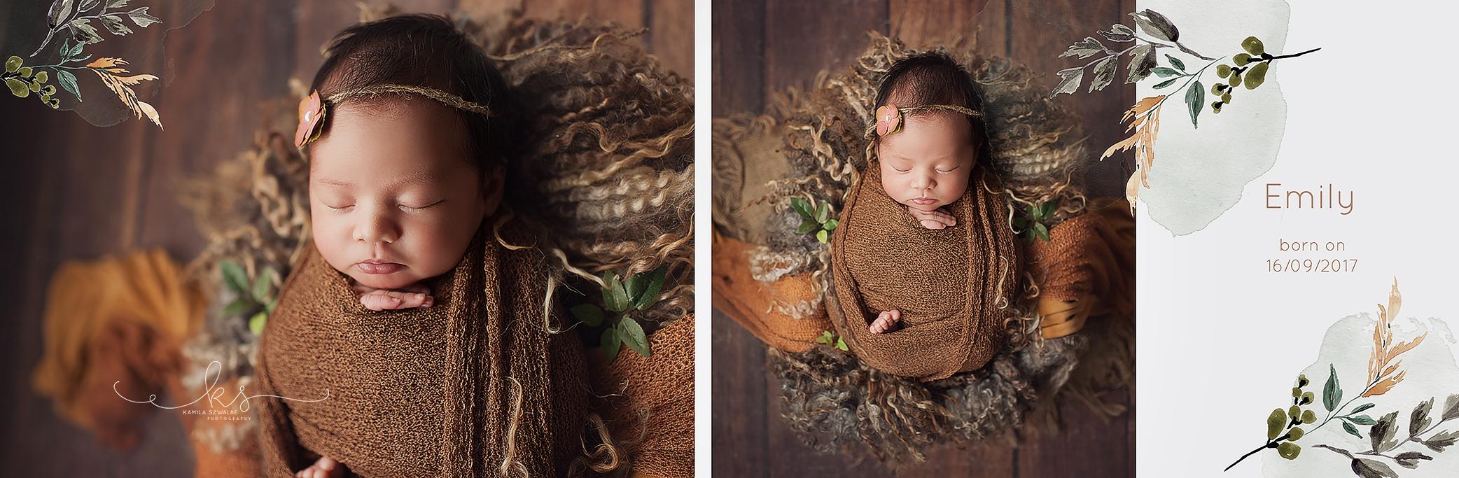 autumn newborn