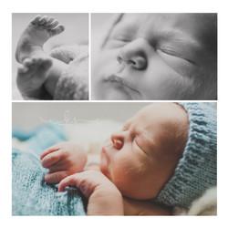 newborn closeup