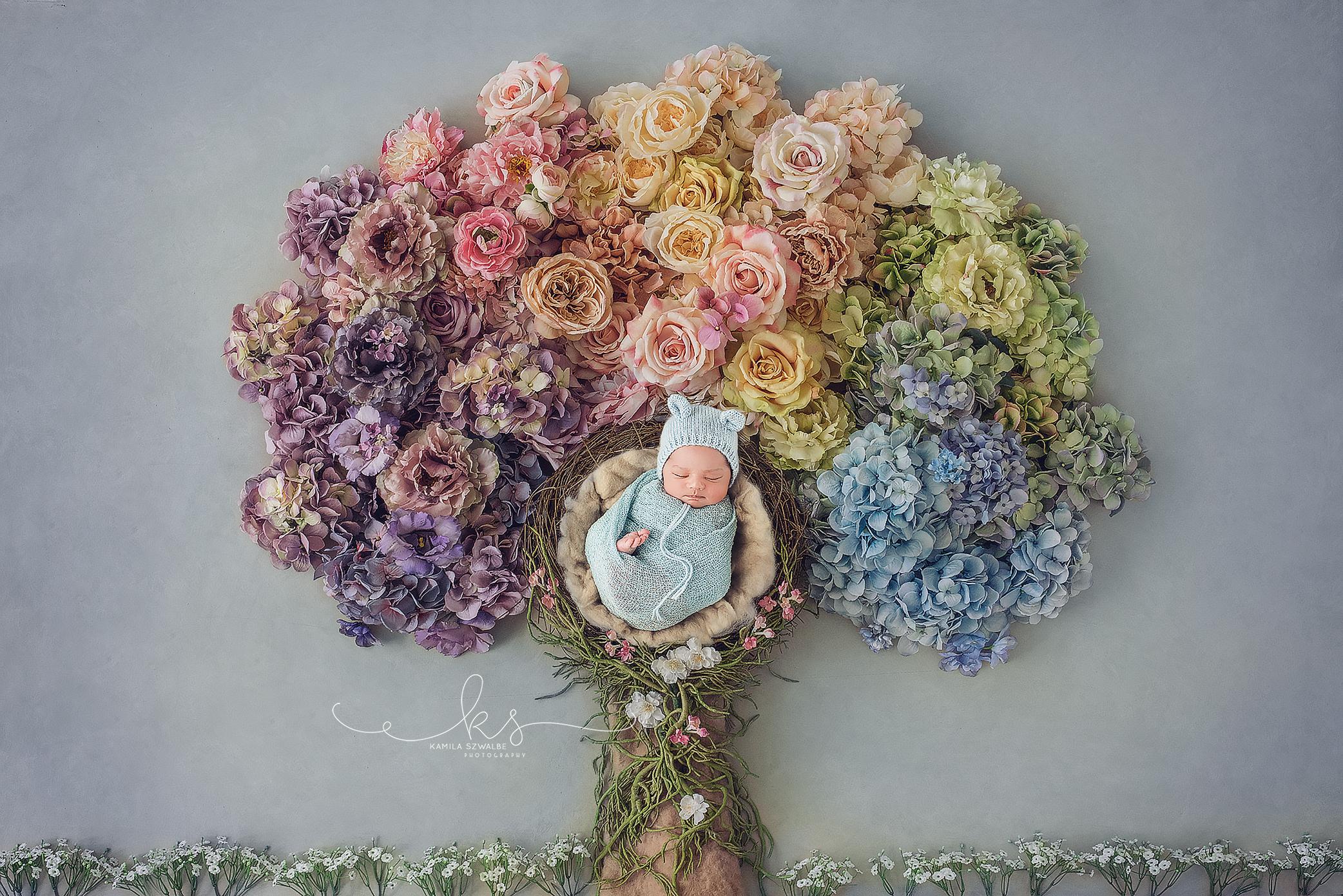 flowers newborn