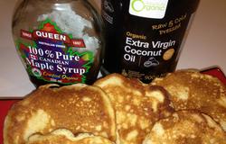 Ricotta Maple Hotcakes