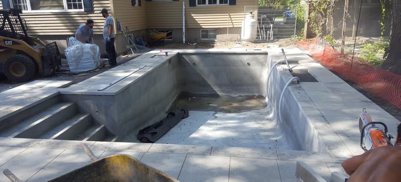 Custome swimming pools