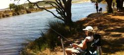 Fishing in Comfort