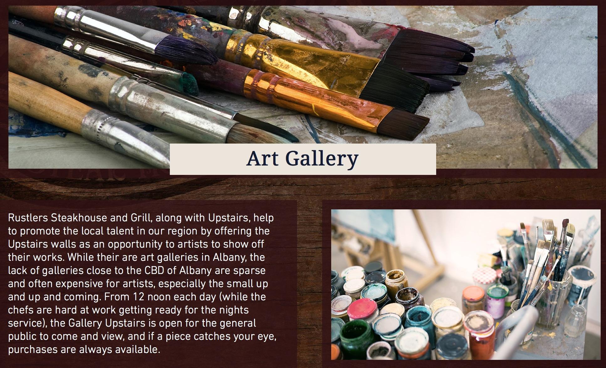 Rustlers Art Gallery