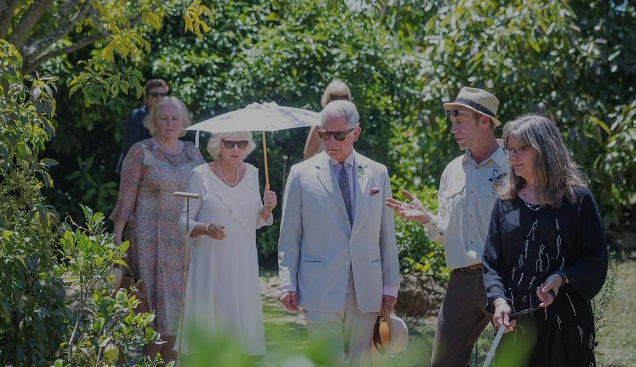 Royal Organic Garden Tour