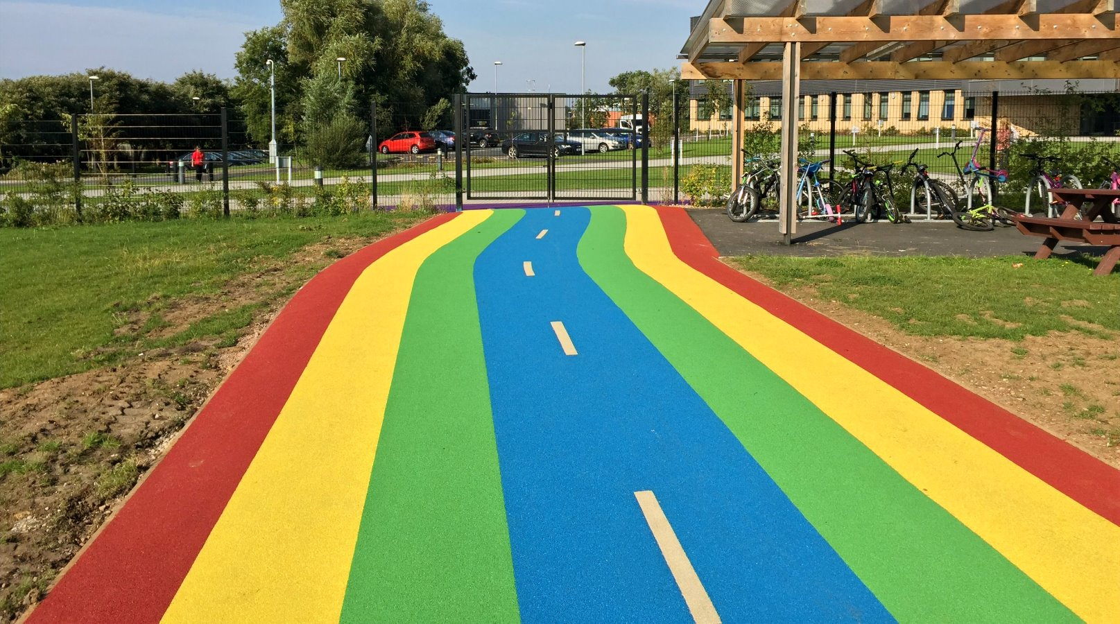 wetpour-trackway