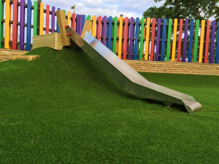 slide-mound