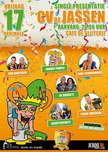 Single presentatie CV De Jassen Carnaval Tilburg 2019