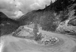 Old Fall River Road Switchbacks