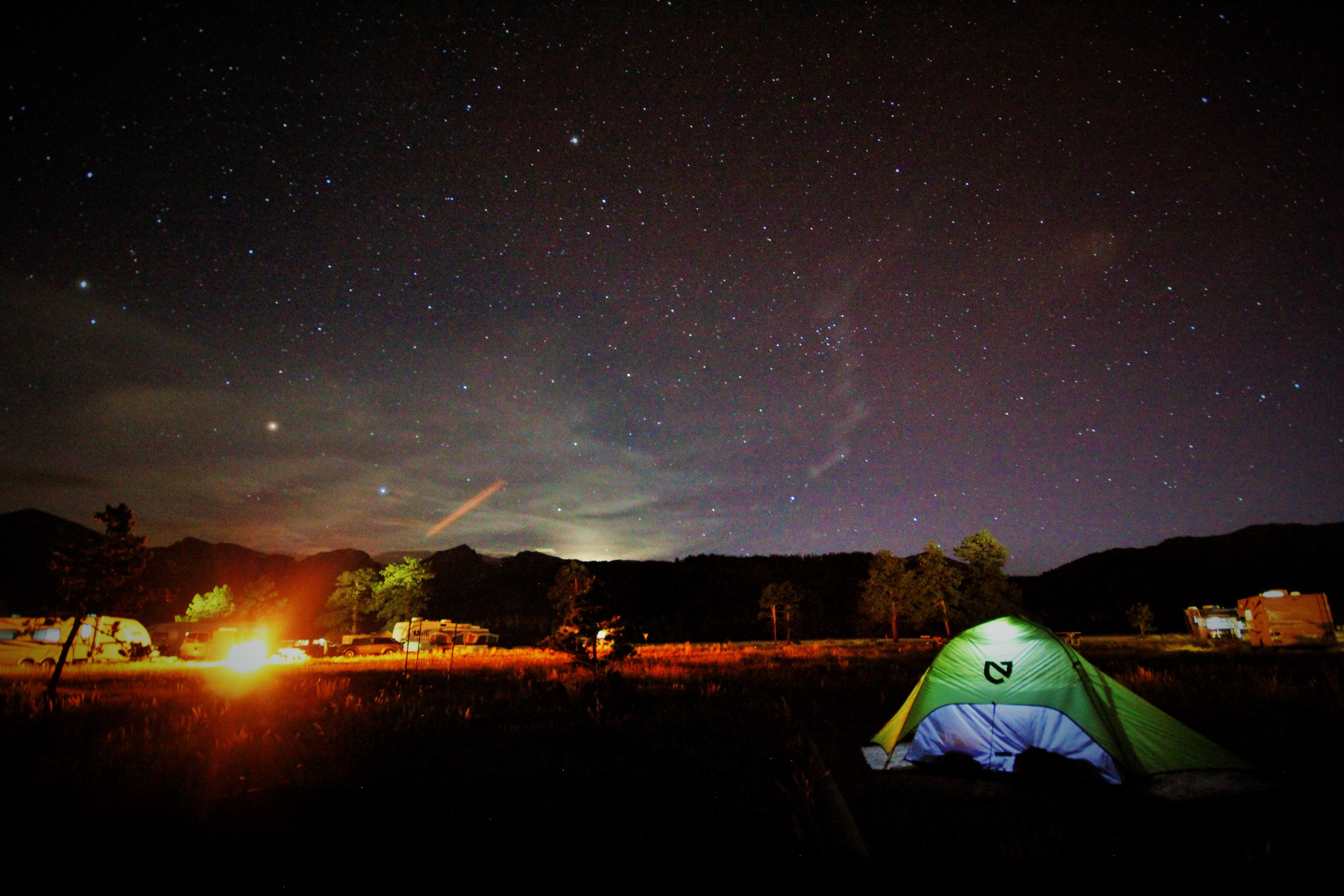 Rocky Mountain Camping
