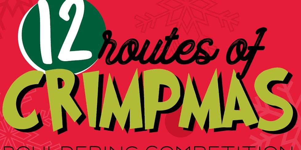 12 Routes of Crimpmas Bouldering Competition