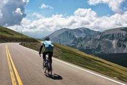 road bike on trail ridge road