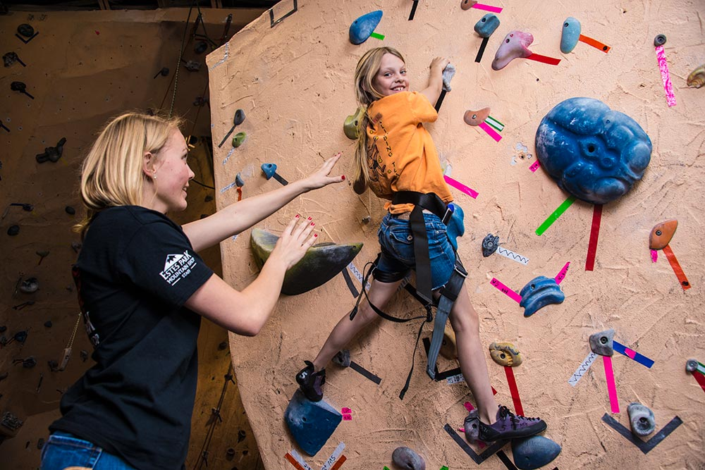 Indoor climbing for all ages