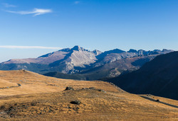 A look at Longs from Trail Ridge