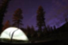 sleep under the stars in estes park