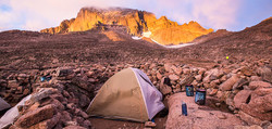 Backcountry-camping