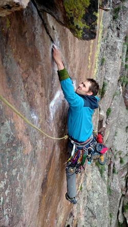 outdoor sport climbing