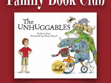 To Be Featured on Family Book Club August 20!