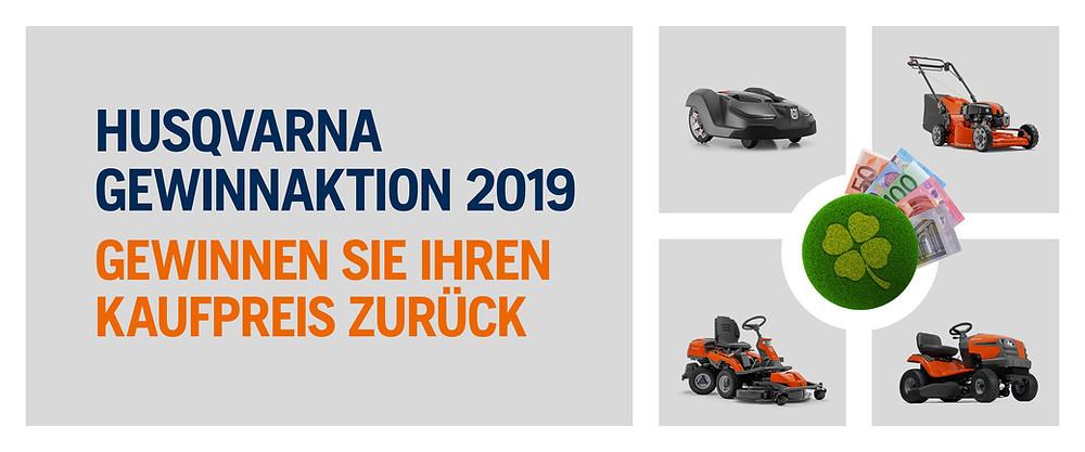 Husqvarna Gewinnaktion 2019