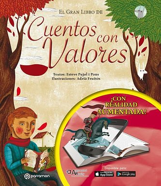 Gran libro de cuento con valores