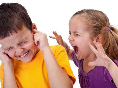 Peleas entre hermanos. Cómo gestionarlas y prevenirlas.