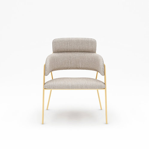 Grace Dining Chair (Gold Legs)