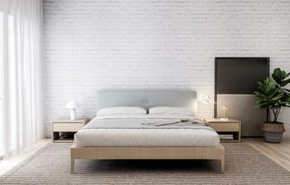Soft Industrial Bedroom