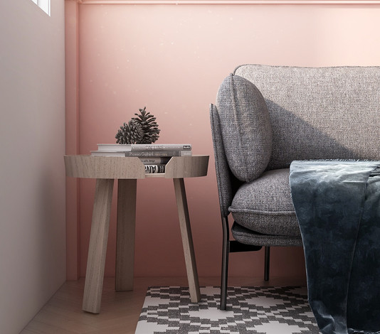 HDB 3 Room_Scandinavian_Living Rm_Side (