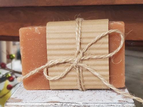 Apple cantaloupe homemade soap