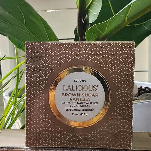 Lalicious Brown Sugar Vanilla Scrub