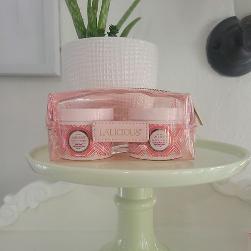 Lalicious travel with case Peachy Keen