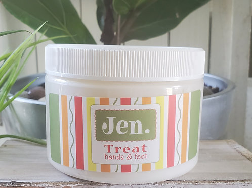 Jen Treat Hand Cream 12oz