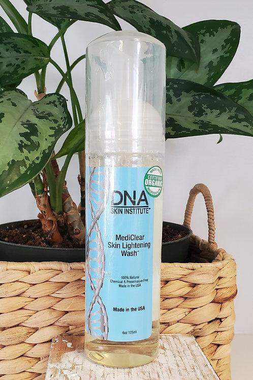 DNA  medi clear skin lightning wash 6oz