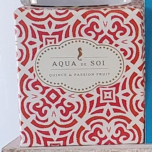 Aqua de Soi candle quince & passion fruit