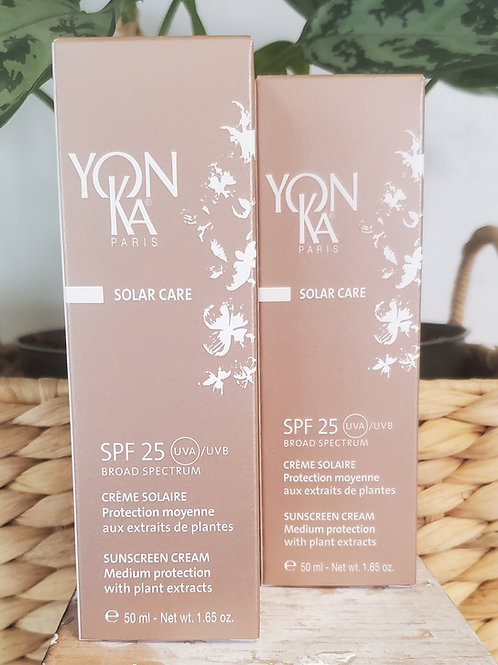 YONKA  solarcare spf 25 cream  50ml