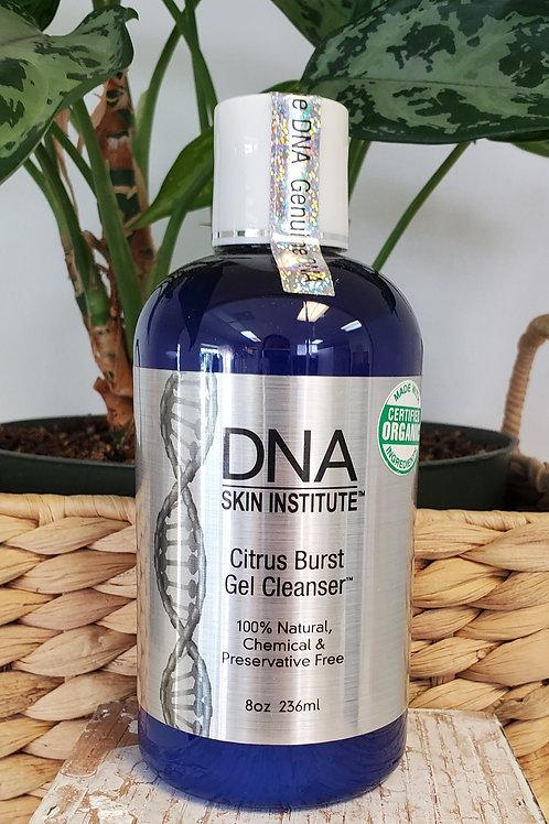 DNA  citrus burst gel cleanser  8oz