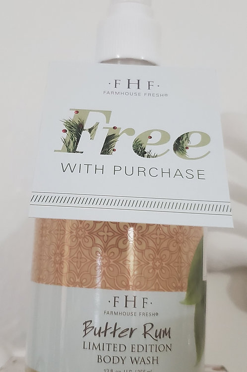 Rum Butter free with FHF purchase
