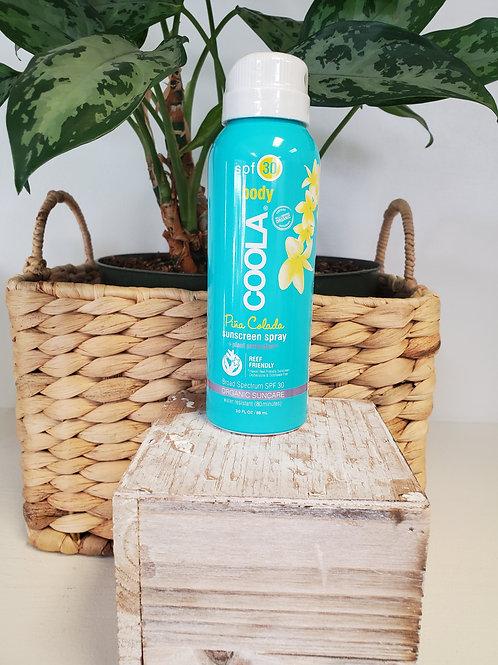 COOLA spf 30 Sun Screen Spray