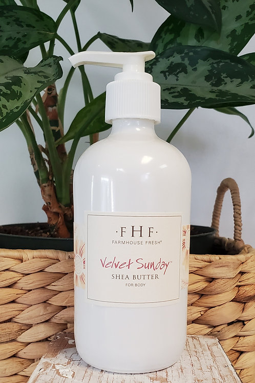 FHF  velvet sunday shea butter 8 oz