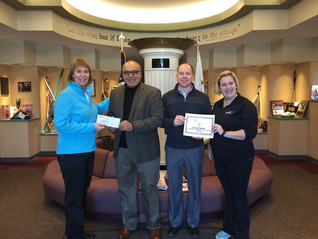 USTA/MTEF Gives Gift to Special Olympics Michigan