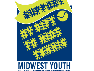 Apply for MY Gift to Kids Tennis Initiative - Raise Money for Your Junior Program